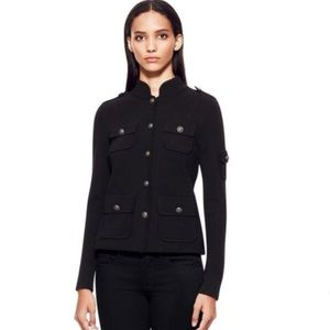 Tory Burch Balmain Military Sweater